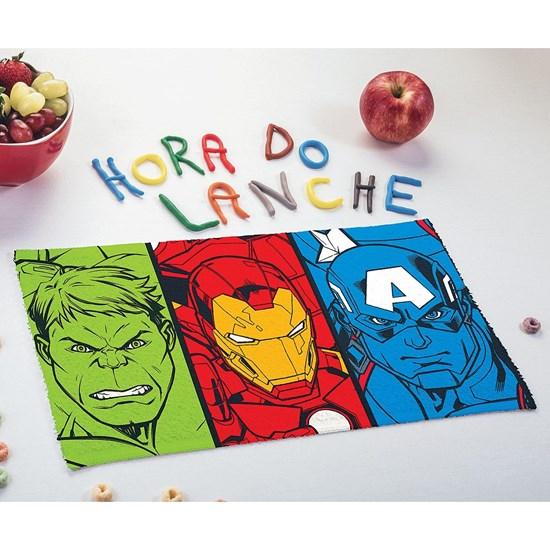 Kit 12 Toalhas De Lancheira Avengers Sortido - Licenciada