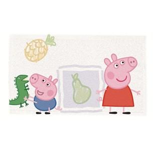 Kit 12 Toalhas De Lancheira Peppa Pig Sortido - Licenciada