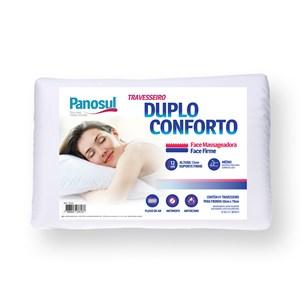 Kit 2 Travesseiros   Duplo Conforto Face Massageadora Sortido - Panosul