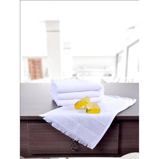 Kit 24 Toalhas Social Ideal Para Artesanato 100 % Algodão Branco - Panosul