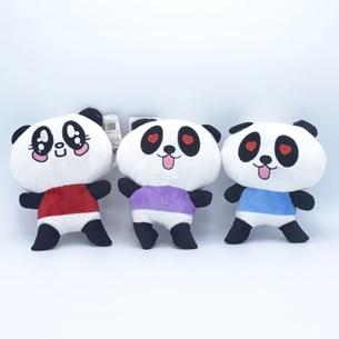 Kit 4 Bichinhos De Pelúcia 18Cm   Panda - Meu Pet
