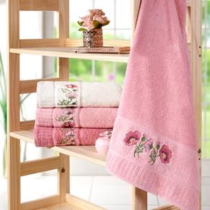 Kit 4 Toalhas De Banho Encanto Rosa Flamingo - Bene Casa