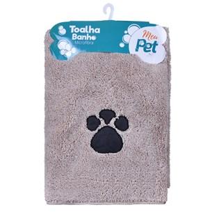 Kit 4 Toalhas Pet Para Cachorros E Gatos  Microfibra Alta Absorção Sortido - Meu Pet