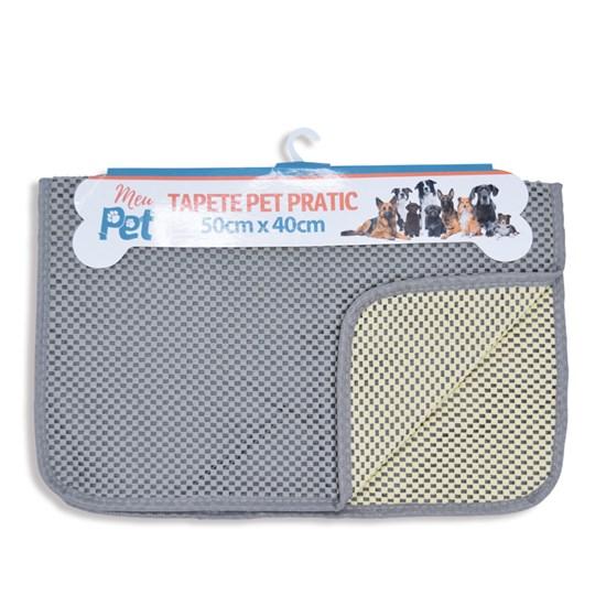 Kit 6 Tapetes Pet 50Cm X 40Cm Pratic Sortido - Meu Pet