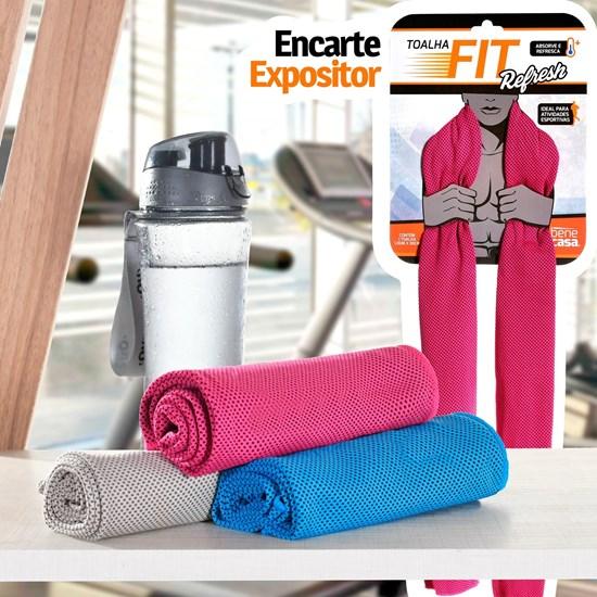 Kit 6 Tolhas Academia Fitness Refresh Sortido - Bene Casa