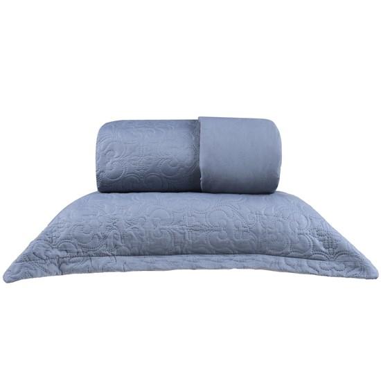 Kit Cobre Leito Casal + Portas Travesseiro Ultra Lisse Urban - Bene Casa