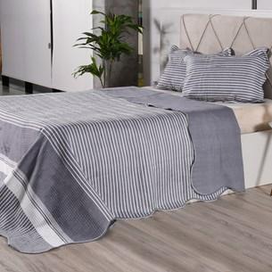 Kit Cobre Leito Com Porta Travesseiros Queen Ultra Lisse Rolinho Classe - Bene Casa