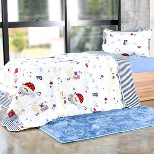 Kit Cobre Leito Infantil Casal Com Porta Travesseiro 2 Peças Pirates - Bene Casa