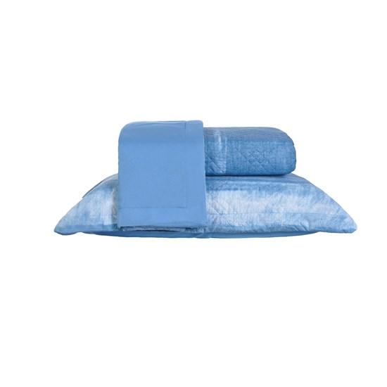 Kit Cobre Leito King Dupla Face Com Porta Travesseiro Ultra Lisse Siena - Bene Casa