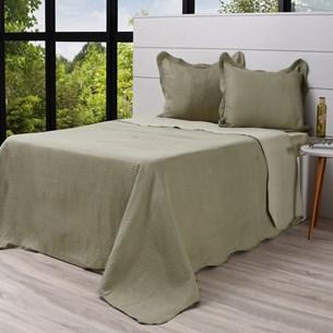 Kit Cobre Leito King + Porta Travesseiros Rolinho Classic - Bene Casa