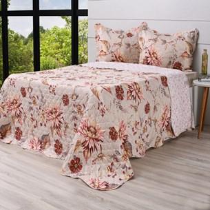 Kit Cobre Leito King + Porta Travesseiros Rolinho Encant - Bene Casa