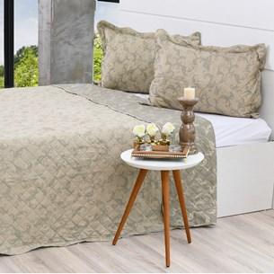 Kit Cobre Leito King + Porta Travesseiros Rolinho Felipe - Bene Casa