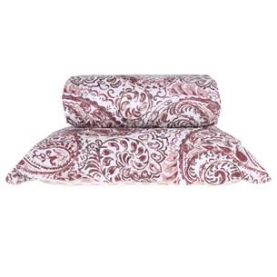 Kit Cobre Leito Solteiro Com Porta Travesseiro Agra - Bene Casa