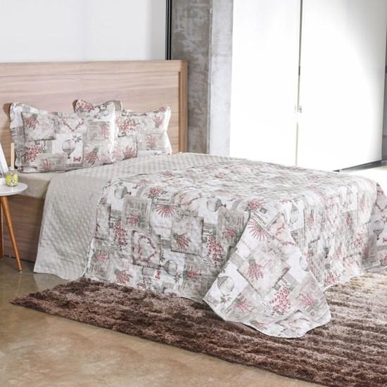 Kit Cobre Leito Solteiro Dupla Face Com Porta Travesseiro Ultra Lisse Nice - Bene Casa