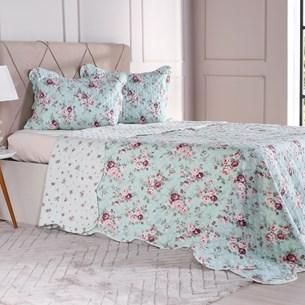 Kit Cobre Leito Solteiro + Porta Travesseiro Bouti Floral Mistic - Bene Casa