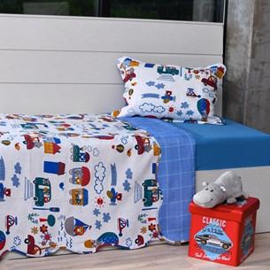Kit Cobre Leito Solteiro + Porta Travesseiro + Lençol 3Pçs Dream Magic - Bene Casa