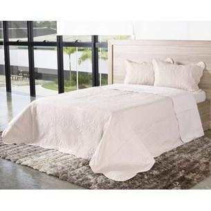 Kit Cobre Leito Ultra Lisse Casal Dupla Face Com Porta Travesseiro Elegance - Bene Casa