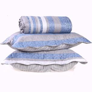 Kit Cobre Leito Ultra Lisse King + Porta Travesseiro Stripe Special - Bene Casa