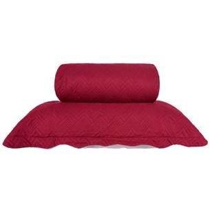 Kit Colcha Com Porta Travesseiro King Toque Extra Macio  Laca - Tessi
