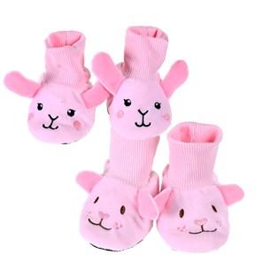 Kit Com 12 Botinhas Bebê   Ideal Para Revenda Sortimento Feminino - Bene Casa