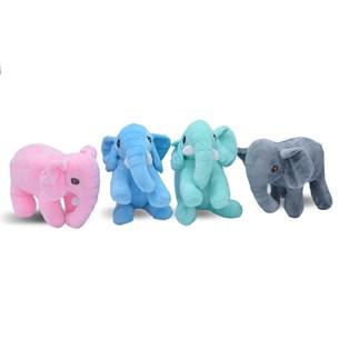 Kit Com 4   Bichinhos De Pelúcia  Elefante - Meu Pet