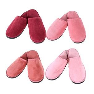 Kit Com 4 Chinelos Soft 35/36 Super Confortáveis Ideais Para Revenda Sortimento Feminino Sortimento Feminino - Bene Casa