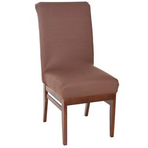 Kit Com 6 Capas De Cadeiras     Marrom - Bene Casa