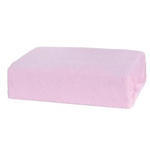 Lençol De Plush Solteiro Com Elástico Soft Rose - Bene Casa