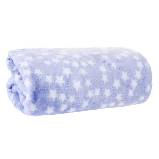 Manta Bebê Premium Toque Flannel 80Cm X 1,10M   Stars - Bene Casa