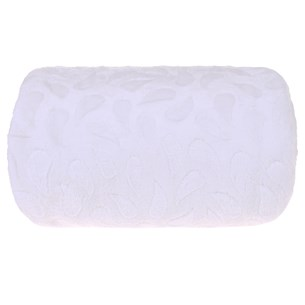 Manta Cobertor Casal Microfibra Flannel Penteado  Branco - Tessi