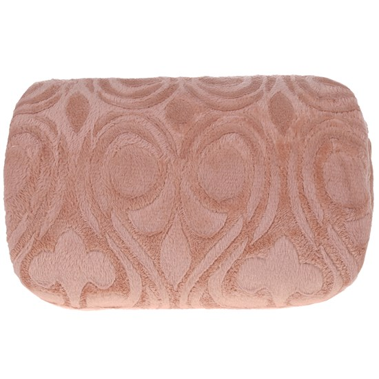 Manta Cobertor Casal Microfibra Flannel Penteado  Terracota - Tessi