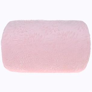 Manta Cobertor King Microfibra Flannel Penteado  Rosa Claro - Tessi