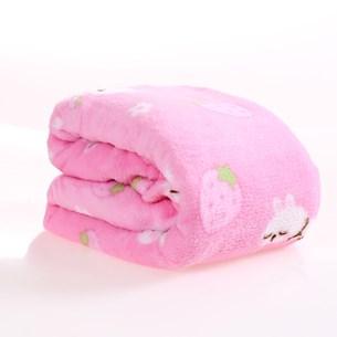 Manta Cobertor Microfibra Pet 70Cm  X 1,00M   Amore Rosa - Meu Pet