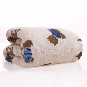 Manta Cobertor Pet 1,20M X 1,50M Microfibra Plush Bege - Meu Pet