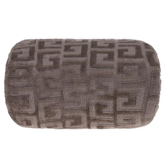 Manta Cobertor Queen Microfibra Flannel Penteado  Caqui - Tessi