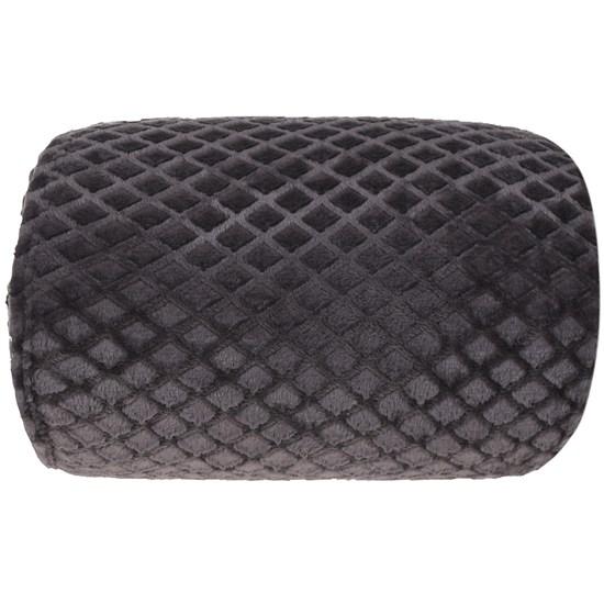 Manta Cobertor Queen Microfibra Flannel Penteado  Chumbo - Tessi