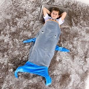 Manta Saco De Dormir Infantil 1,40M X 60Cm Baleia - Bene Casa