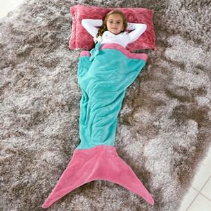 Manta Saco De Dormir Infantil 1,40M X 60Cm Sereia Tifany - Bene Casa