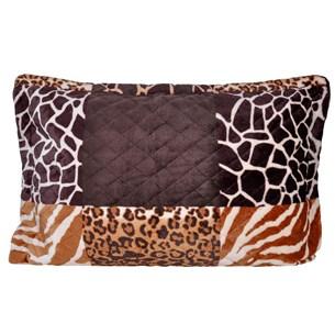 Porta Travesseiro De Plush 50Cm  X 70Cm Toque Extra Macio Animale - Bene Casa