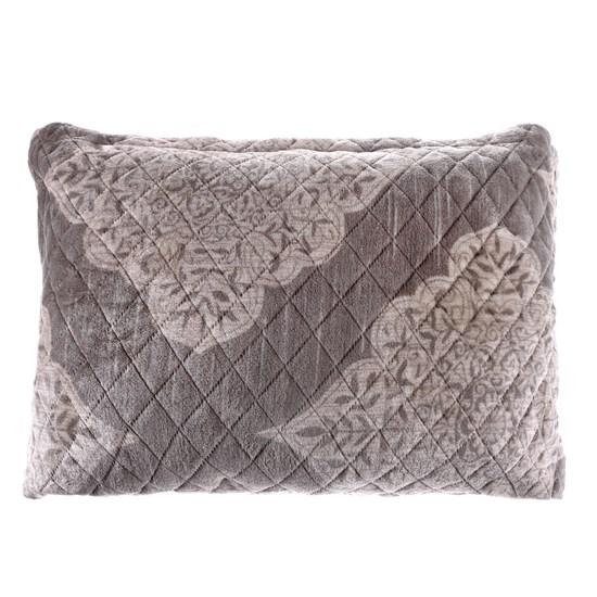 Porta Travesseiro De Plush 50Cm  X 70Cm Toque Extra Macio Dubai - Bene Casa