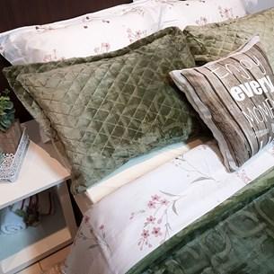 Porta Travesseiro De Plush 50Cm  X 70Cm Toque Extra Macio Essence - Bene Casa