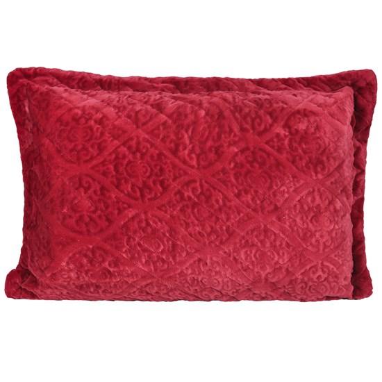 Porta Travesseiro De Plush 50Cm  X 70Cm Toque Extra Macio Splendor - Bene Casa