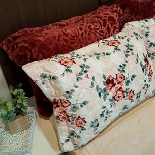 Porta Travesseiro De Plush 50Cm  X 70Cm Toque Extra Macio Valentine - Bene Casa