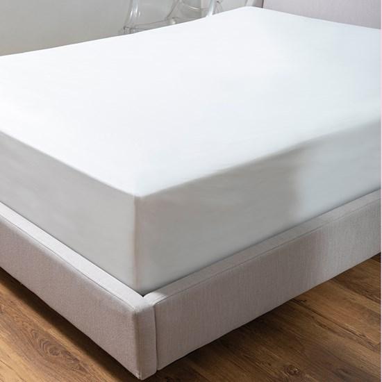 Protetor De Colchão Queen Impermeável Prático  Branco - Bene Casa