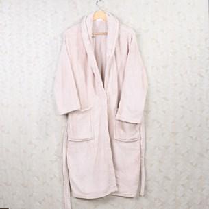 Roupão Com Capuz P Toque Flannel Rosa - Bene Casa