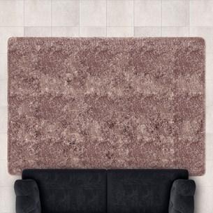 Tapete Confort Shaggy 1,40M X 2,00M Para Salas E Quartos Marfim - Bene Casa