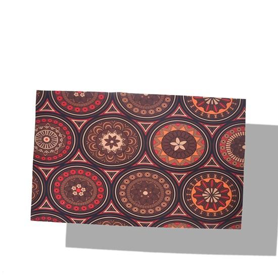 Tapete De Porta 40Cm X 60Cm Emborrachado Digital Print Mosaico - Bene Casa