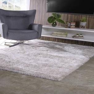 Tapete De Sala E Quarto Peludo 50Cm X 1,50Cm  Premium Silk Luna - Tessi