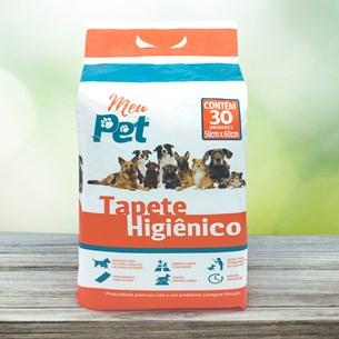 Tapete Higiênico Para Cachorros Pacote C 120 Unidades Rápida Absorção Branco - Meu Pet