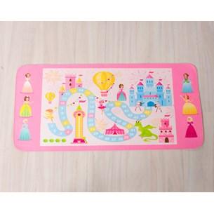 Tapete Infantil 45Cm X 95Cm   Diversão Princesas - Bene Casa
